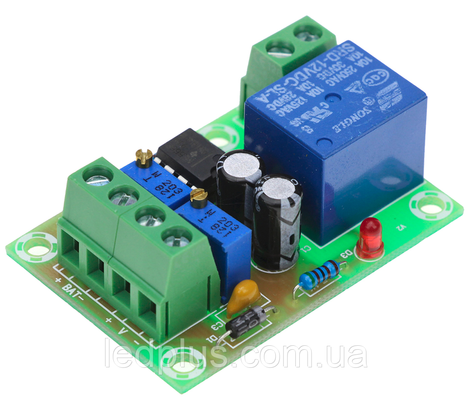 Контроллер заряда аккумуляторной батареи 12В XH-M601