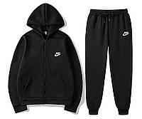 Спортивный мужской костюм, спортивний чоловічий костюм Nike Найк (Худи на молнии+штаны) S1341