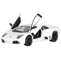 Детская машинка Lamborghini LP640 метал 1:36 белая