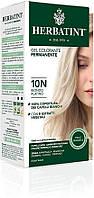 Краска для волос Herbatint - платиновый блонд 10N, Перманентная краска-гель для волос