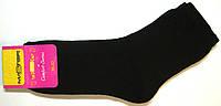 Носки женские махра внутри черные