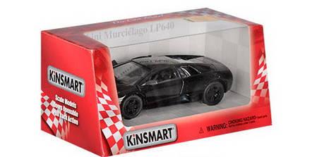 Детская машинка Lamborghini LP640 метал 1:36 черная, фото 2