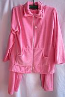 Женская пижама полубатал махра (р.L,XL,2XL)