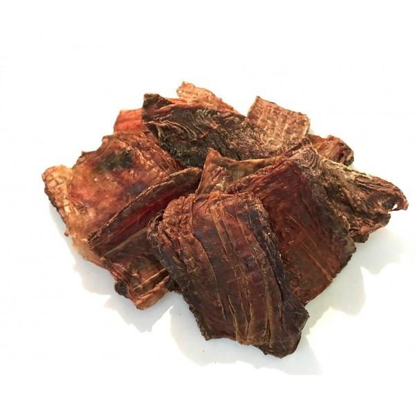 Лакомство для собак мясо пищевода говяжье сушеное 200г
