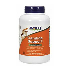 Комплекс ферментов и пробиотиков NOW Candida Support 180 veg caps