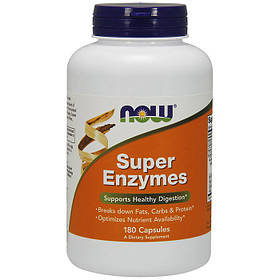 Комплекс ферментов NOW Super Enzymes 180 caps