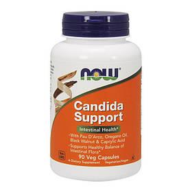 Пробиотик NOW Candida Support 90 veg caps