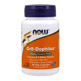 Дофилус NOW Gr8-Dophilus 60 veg caps