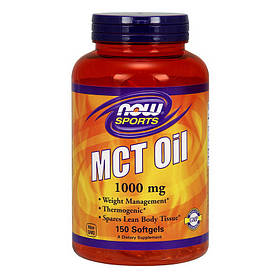Масло MCT NOW MCT Oil 150 softgels