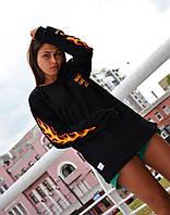 Жіночий світшот в стилі Vans x Wtaps, фото 1