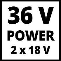 Пила цепная бесщеточная Einhell GE-LC 36/35 Li-Solo + ЗУ и 2 АКБ 18V 3,0 Ah, фото 3