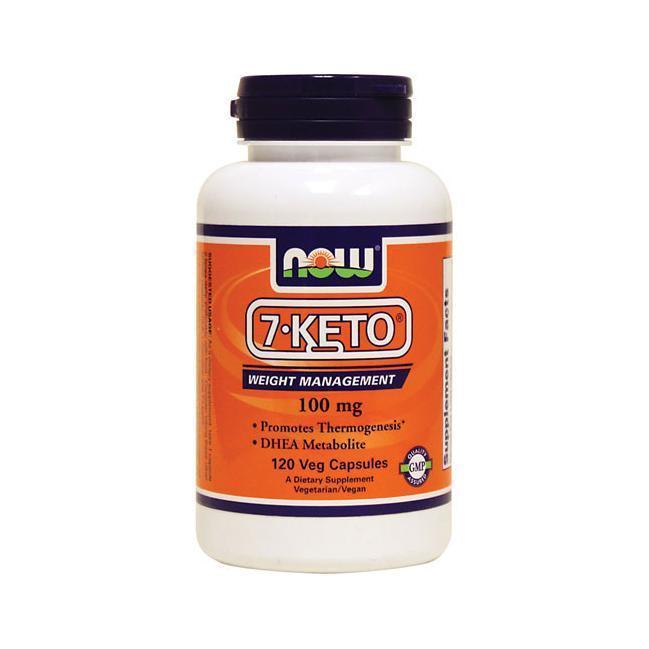 Секрет молодости NOW 7-KETO 100 mg 120 veg caps