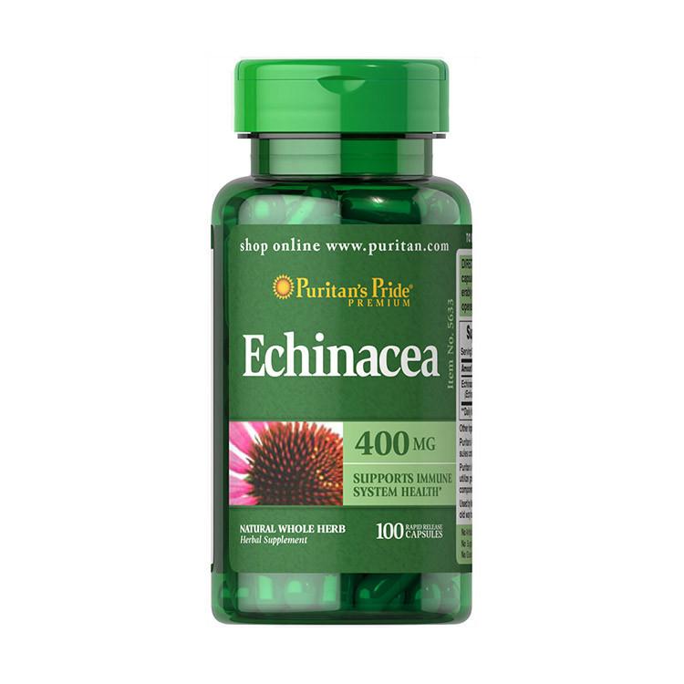 Эхинацея Puritan's Pride Echinacea 400 mg 100 caps