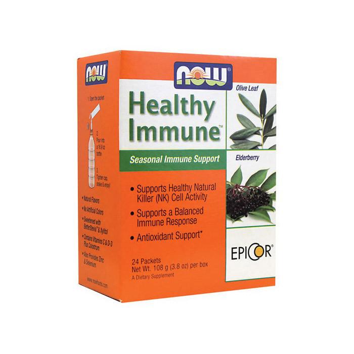 Поддержание иммунитета NOW Healthy Immune 24 packets