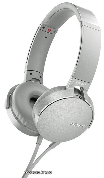 Наушники SONY MDR-XB550AP White