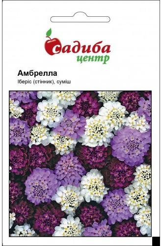 """Семена цветов ибериса Амбрелла  смесь, 0,5 г, """"Садиба  Центр"""",  Украина"""