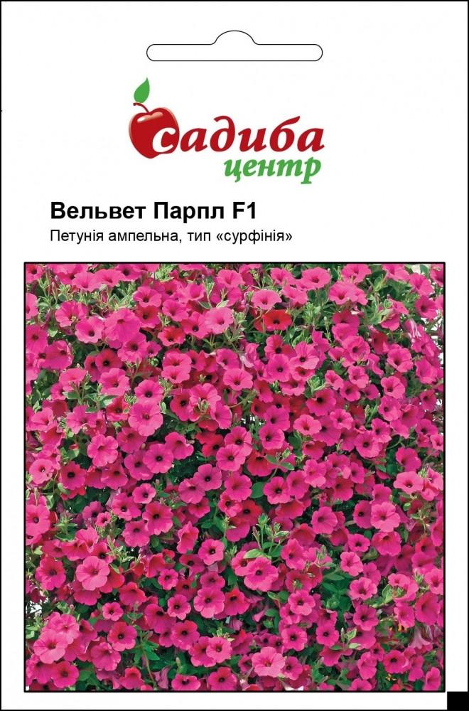Семена Петуния Вельвет Парпл фиолетовая 100 гранул, Cerny (Чехия)