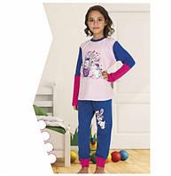 Детские и подростковые пижамы хлопковые 2236