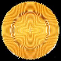 Тарелка Tilia Supla Floral золото