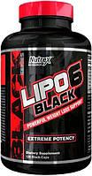 Nutrex Lipo-6 Black 120 caps комплексный жиросжигатель для быстрого похудения