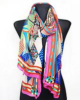 Шелковый шарф Fashion Колет 180*90 см розовый