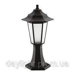 Садово-парковый ландшафтный светильник BEGONYA-1 Е27 черный