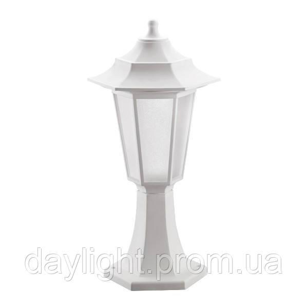 Садово-парковый ландшафтный светильник BEGONYA-1 Е27 белый