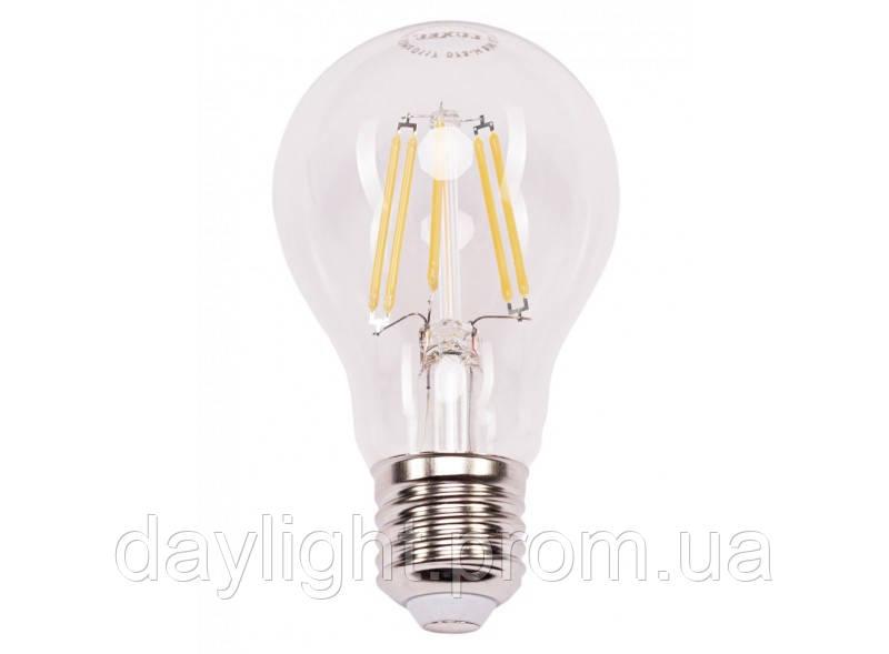 Лампа светодиодная филамент 7W 4000k E27 Luxel
