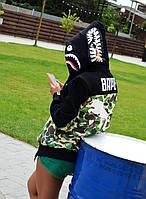 Женская толстовка в стиле Bape x Puma, фото 1