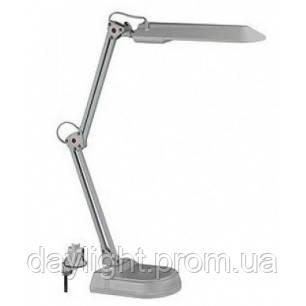 Настольная лампа Magnum 7W серебро (струбцина+ площадка)