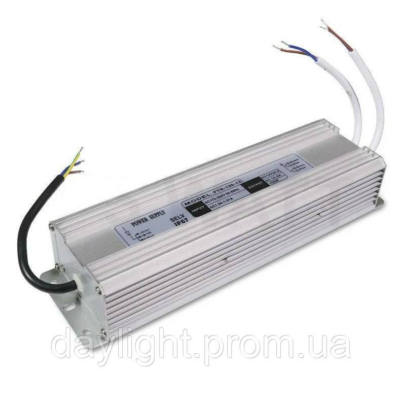 Блок питания 12v герметичный 150W 12.5A FTR для светодиодной ленты