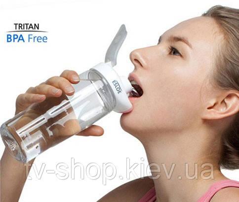 Бесконтактная бутылка для воды ESLOE Sport,500 мл - ТВ-ШОП в Киеве