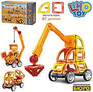 Конструктор Limo Toy магнитный LT6001 «Строительная техника» 87 деталей