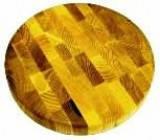 Доска 300*35мм деревянная торцевая округлая КЕДР