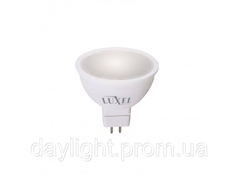 Лампа светодиодная GU5.3 3W 3000K Luxel Premium