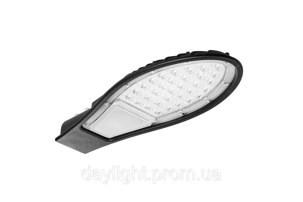 Столбовой светодиодный светильник 30W Delux ORION холодный свет