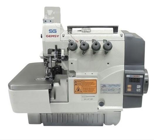 GEMSY SG-7724E/2-24 промислова зшиваючo-обметувальна машина (Оверлок)