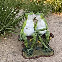 Садовая фигура Лягушки влюбленные