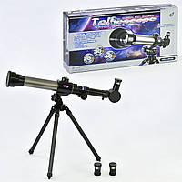 Детский телескоп С 2106 на треноге в комплекте 3 степени увеличения