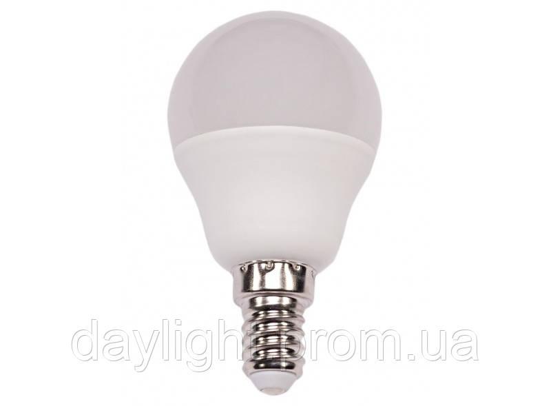 Лампа светодиодная мини шар 5W 4000k E14 Luxel Premium