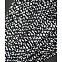 Paracord 550, super reflective snake black #r16016S (светоотражающий)