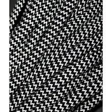 Paracord 550, super reflective waves black #r16016W (светоотражающий)