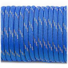 Paracord 550, reflective X3 blue #r3001 (светоотражающий)