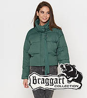 Braggart Youth | Осенне-весенняя женская куртка 25233 зеленая