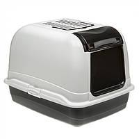 Закритий туалет з фільтром для великих кішок Ferplast MAXI Bella Cabrio (50 x 65.5 x 47 див.)