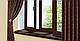 Підвіконня Plastolit Венге Глянець 500 мм термостійке покриття, вологостійкий, стійкий до подряпин, для вікон, фото 3