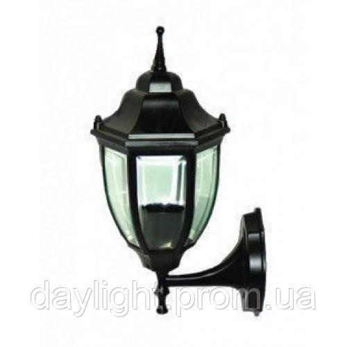 Фасадний світильник Lemanso PL5101 чорний, метал