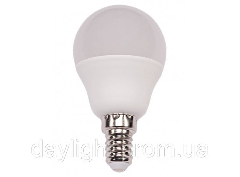 Лампа светодиодная мини шар 7W 3000k E14 Luxel Premium