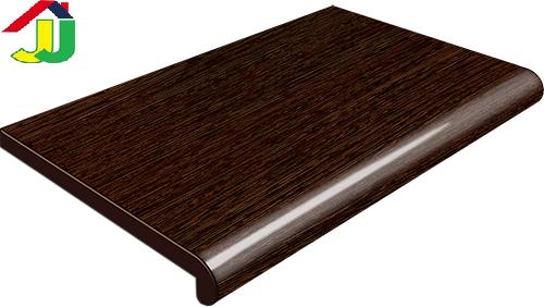 Подоконник Plastolit Венге Матовый 350мм термостойкое покрытие, влагостойкий, устойчивый к царапинам, для окон