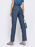 Зауженные брюки с поясом на резинке, фото 8